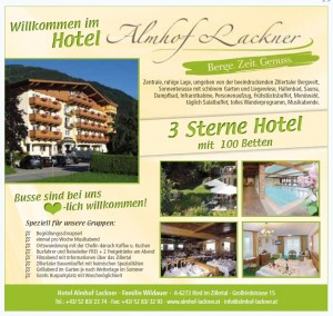 Hotel Almhof Lackner