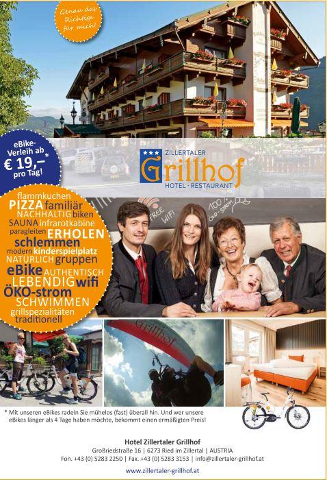 Hotel Grillhof Ried im Zillertal