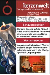 Kerzenwelt Schlitters