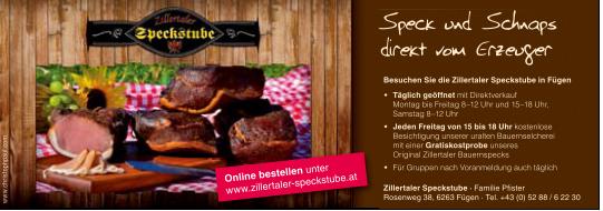 Speckstube_zillertal