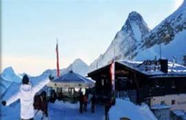 Gletscherhütte Hintertuxer Gletscher Zillertal