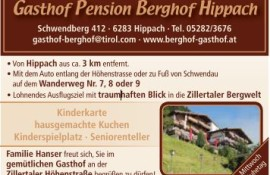 Berghof Hippach