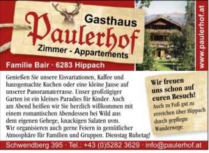Paulerhof Schwendberg