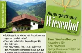Alpengasthof Wiesenhof