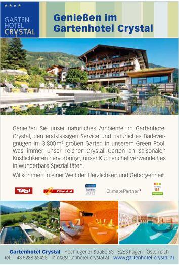 Gartenhotel Crystal