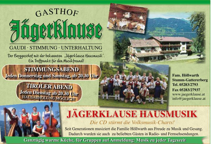 Gasthof Jägerklause