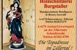Holzschnitzerei Burgstaller