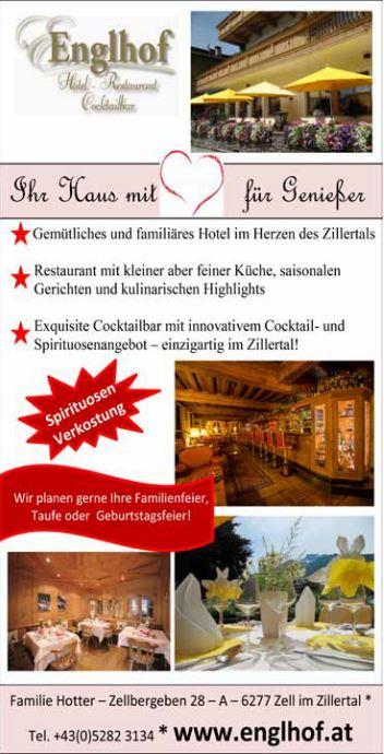 Hotel Englhof Zell am Ziller