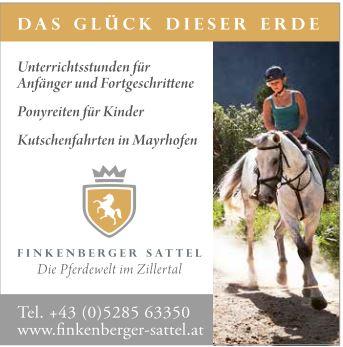 Finkenberger Sattel