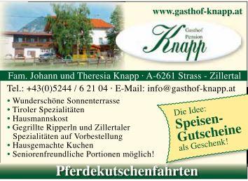 Gasthof Knapp Strass