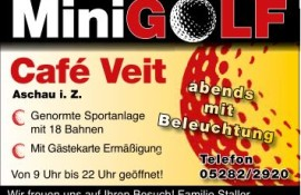 Mini Golf Cafe Veit Zillertal