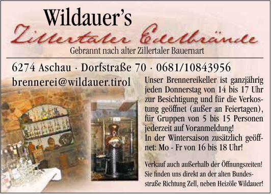 Wildauer Schnapsbrennerei