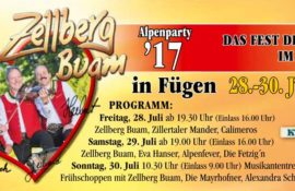 Alpenparty 2017