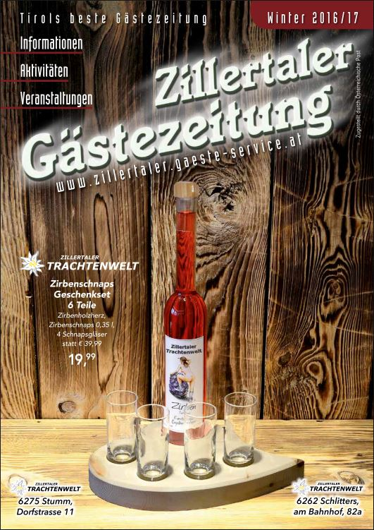 Titelseite Gästezeitung Winter 16/17