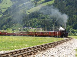 Dampfzugfahrt im Zillertal